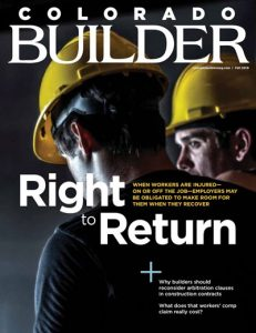 Colorado Builder Fall 2019