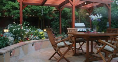 Outdoor living on shrinking lots